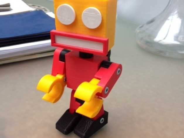 机器人 3D打印模型渲染图