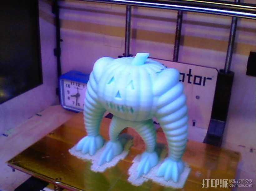 巨型南瓜机器人 3D打印模型渲染图