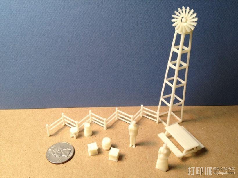 野餐主题小物件 3D打印模型渲染图
