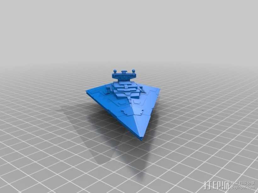 歼星舰 3D打印模型渲染图
