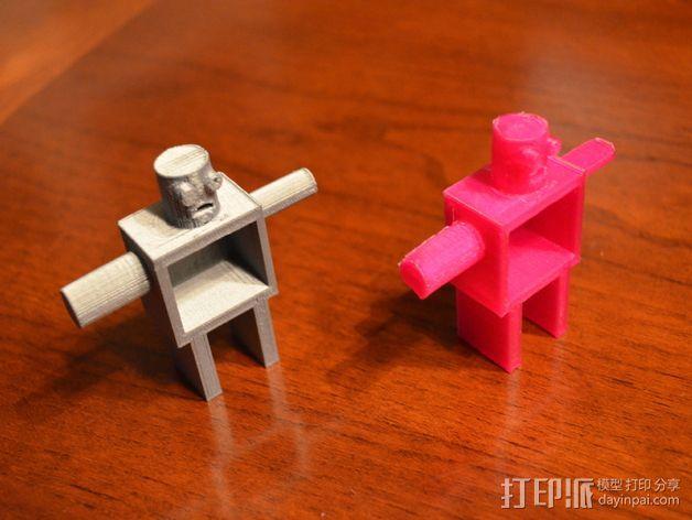 JosieBot机器人 3D打印模型渲染图