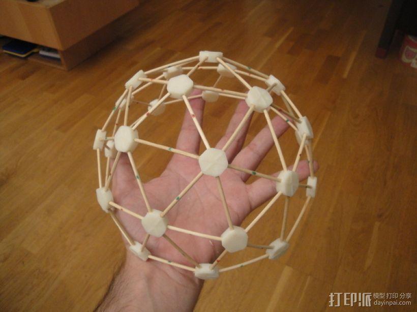 迷你参数化建筑圆顶 3D打印模型渲染图