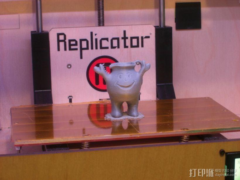 Kool aid饮料 吉祥物 3D打印模型渲染图