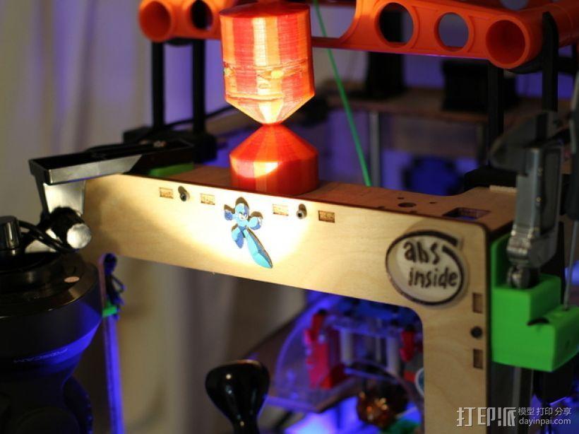 个性化玩偶 3D打印模型渲染图