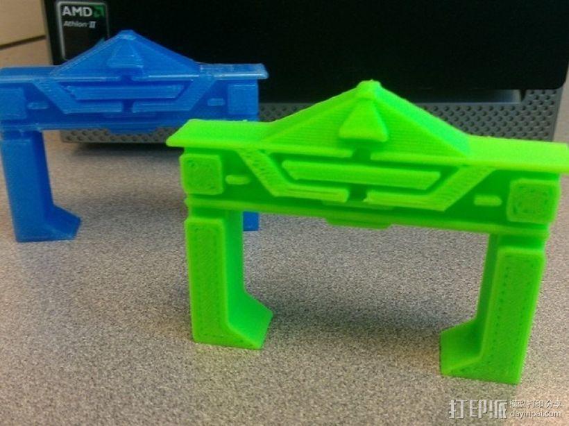 电影《创战纪》 识别器 3D打印模型渲染图