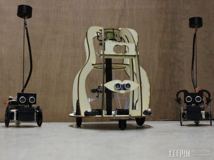 Robo机器人家族 3D打印模型渲染图