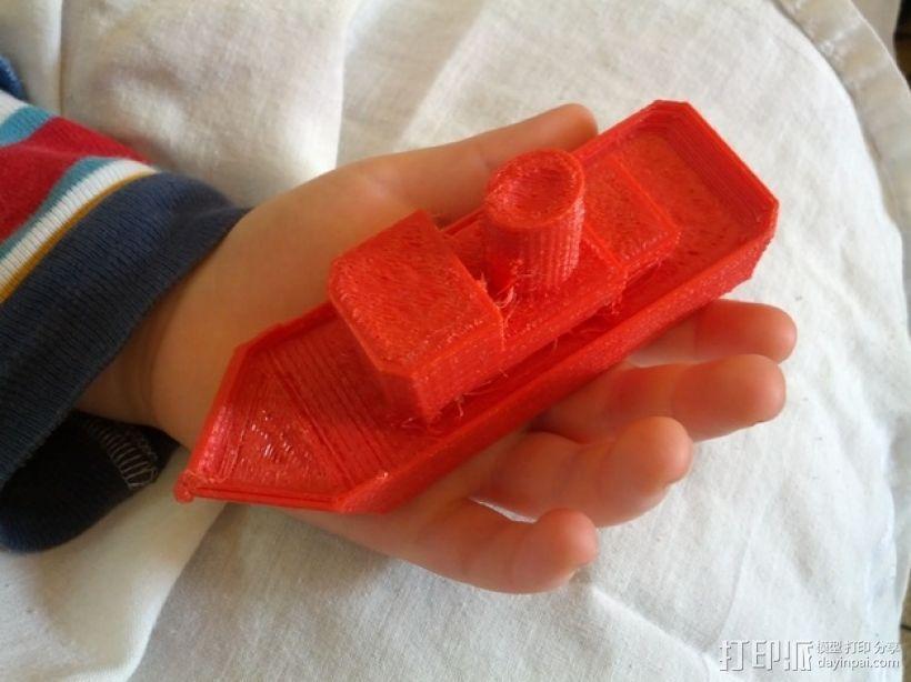 拖船 玩具 3D打印模型渲染图
