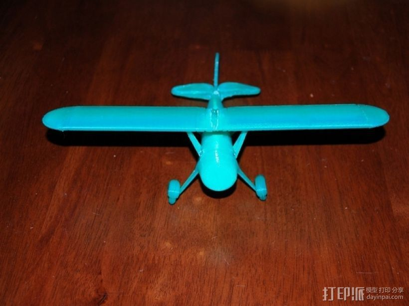 Fairchild 22 飞机 3D打印模型渲染图