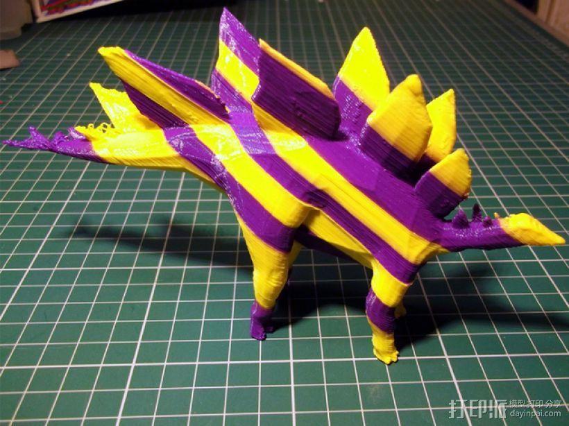 剑龙 3D打印模型渲染图