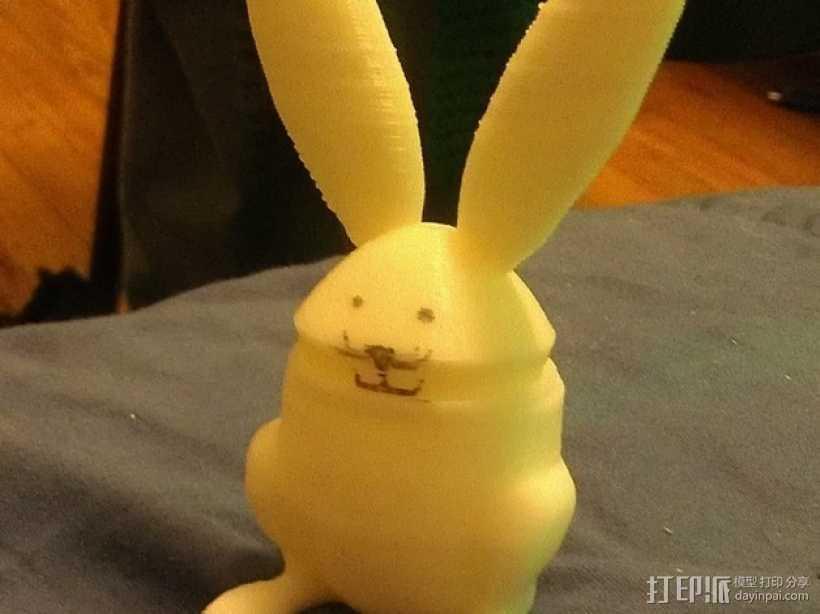 兔子 杯子 3D打印模型渲染图