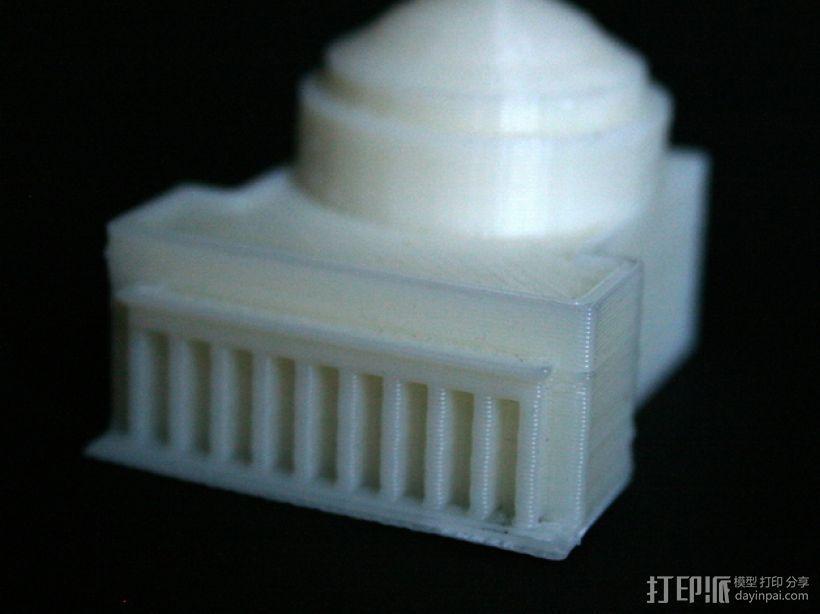 MIT建筑 3D打印模型渲染图