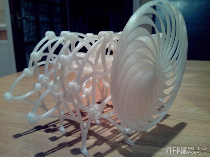 Brabeast 风力仿生兽 3D打印模型渲染图