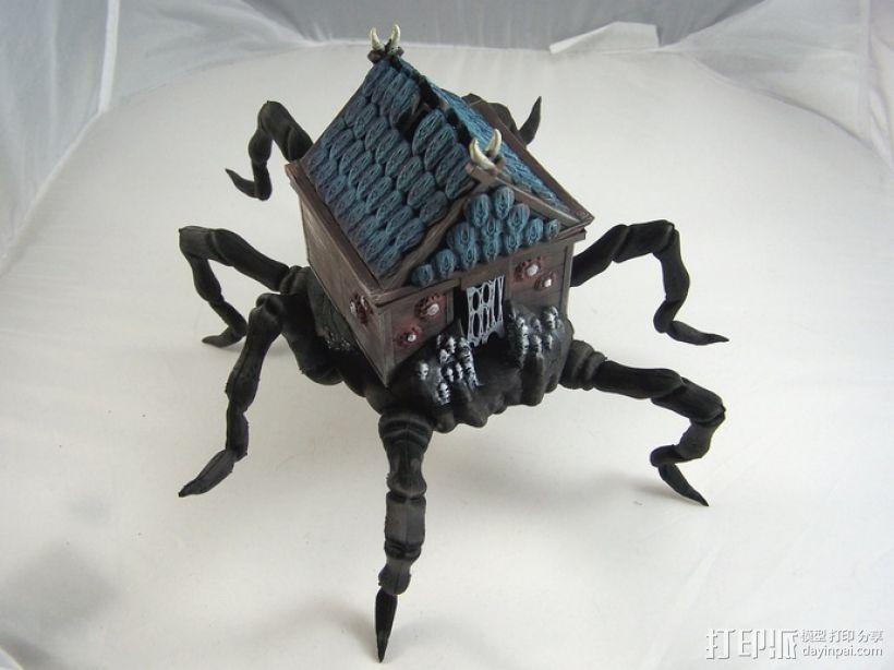 小屋 蜘蛛 3D打印模型渲染图