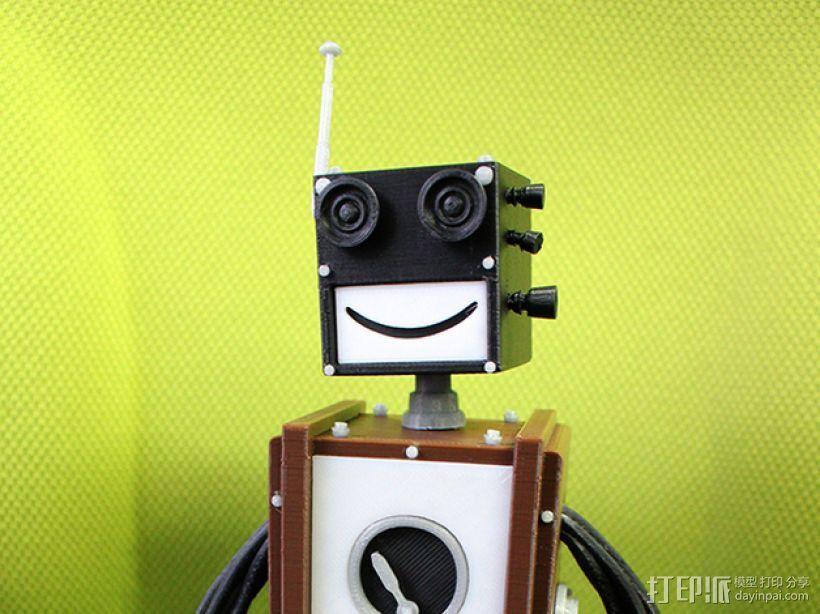 Chocobot机器人 3D打印模型渲染图