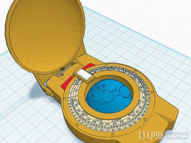 航海泛光灯 3D打印模型渲染图