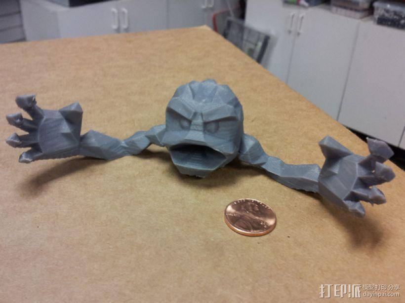 小拳石 3D打印模型渲染图