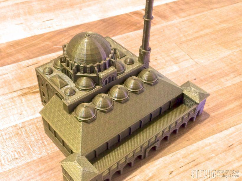 吕斯泰姆帕夏清真寺 3D打印模型渲染图