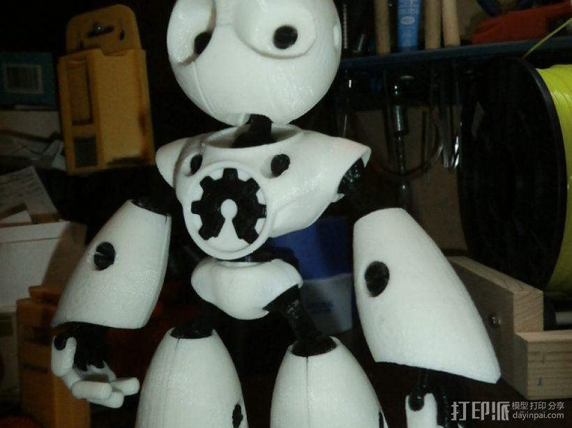 Mark II 机器人 3D打印模型渲染图