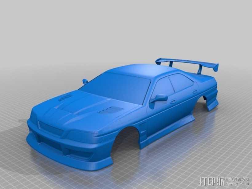 日产 Laurel C35汽车 3D打印模型渲染图
