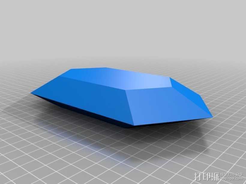 塞尔达传说 卢比 3D打印模型渲染图