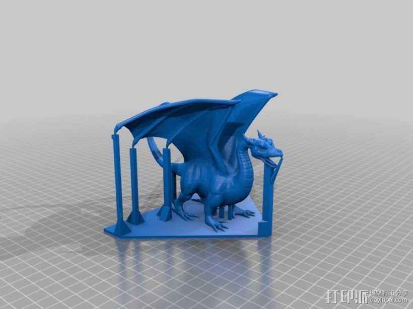 喷火龙模型 3D打印模型渲染图