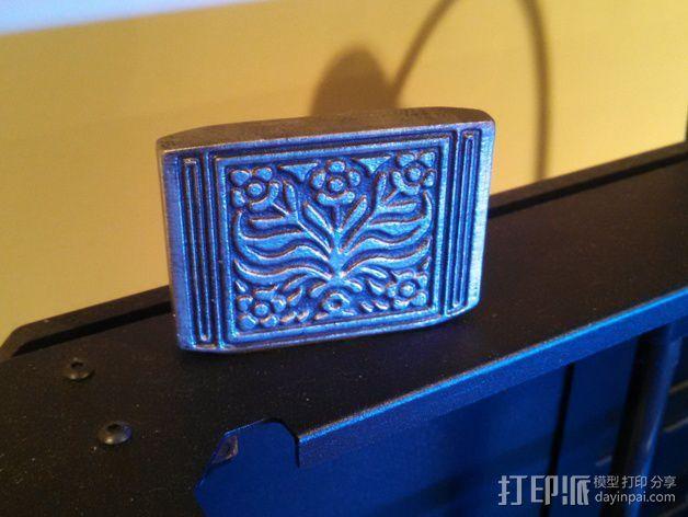 奥柏伦亲王的项链坠 3D打印模型渲染图