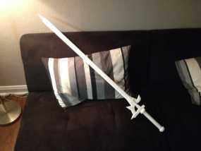 阐释者单手黑剑