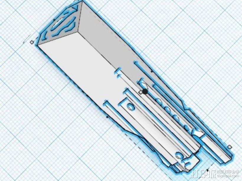 命运之匙 3D打印模型渲染图