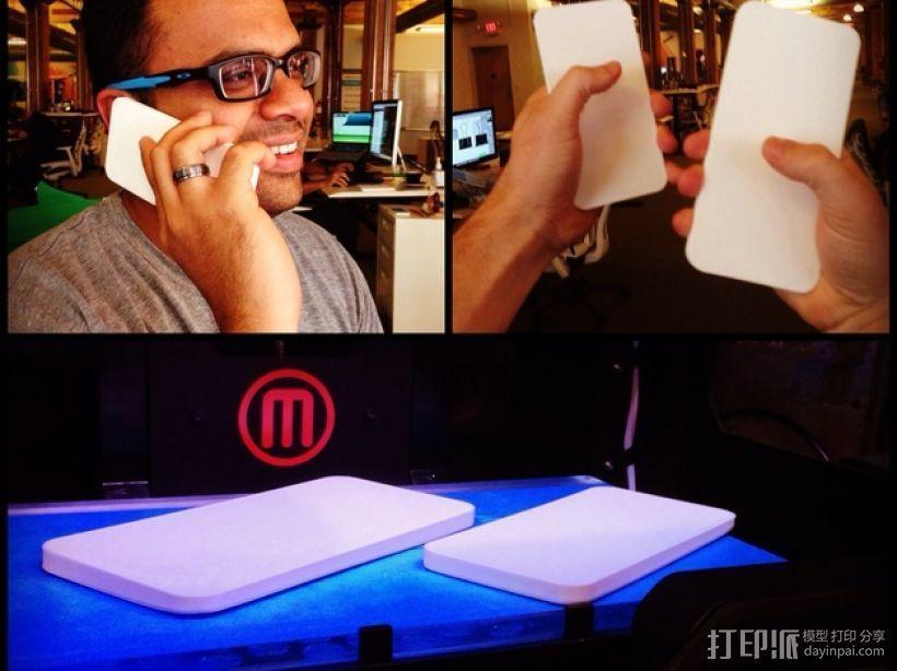 iPhone6手机规格 3D打印模型渲染图