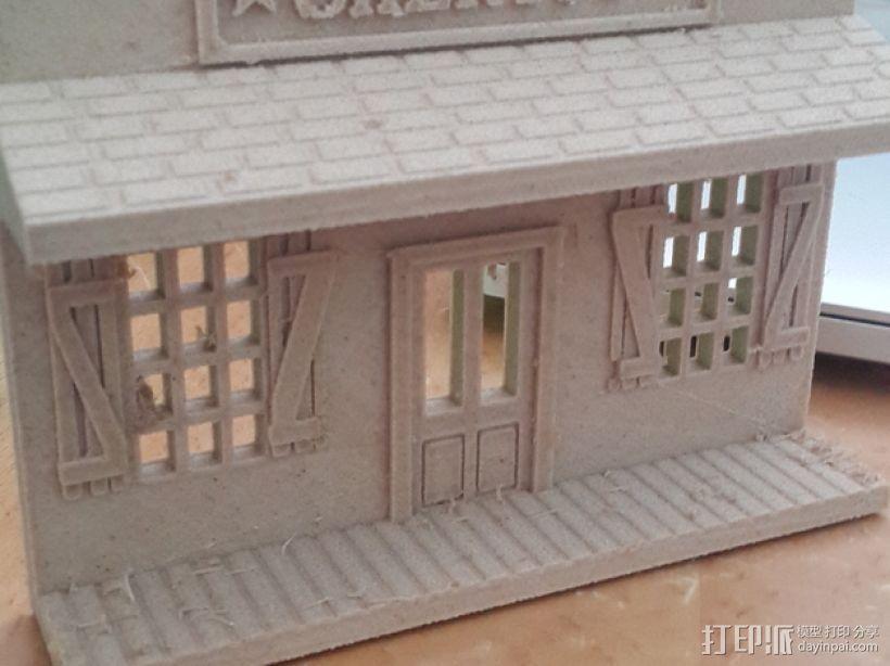 州长办公室  3D打印模型渲染图