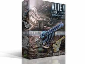 Alien Jockey外星人雕像