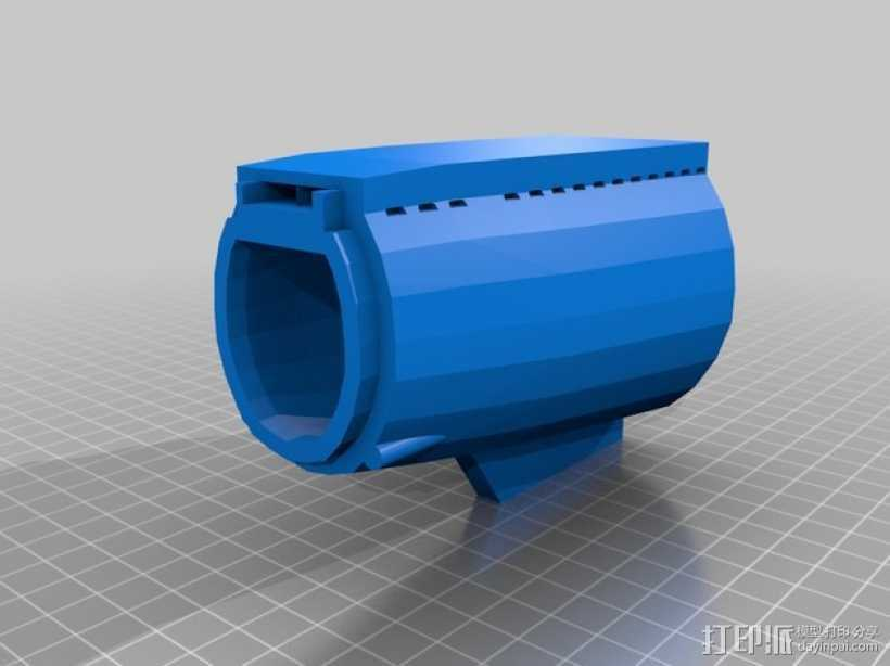 Bathtub U-Boat赛艇 3D打印模型渲染图