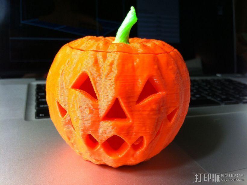 杰克灯  南瓜灯 3D打印模型渲染图