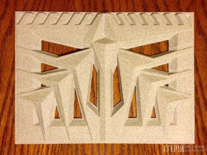 比特摩尔庄园瓷砖 3D打印模型渲染图
