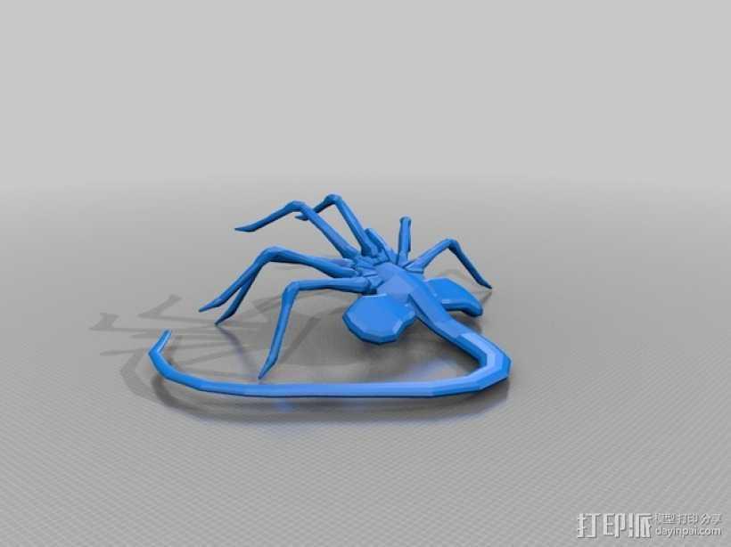 抱脸虫 3D打印模型渲染图