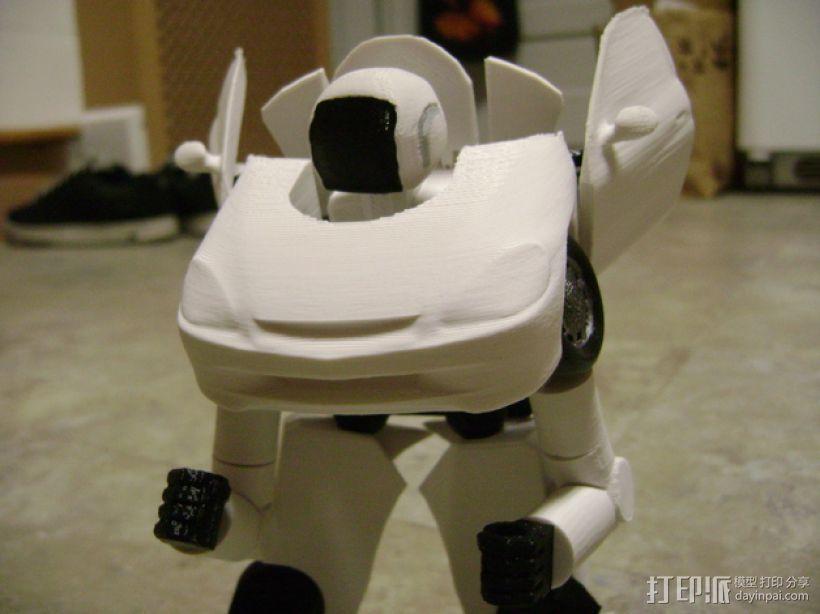 变形金刚 汽车人 3D打印模型渲染图