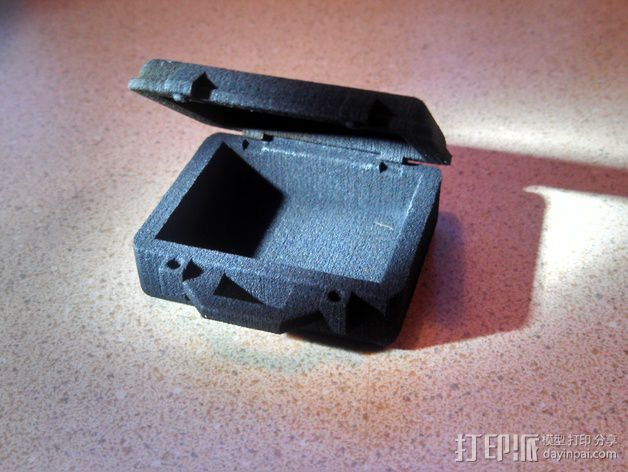 迷你Pelican安全箱 3D打印模型渲染图