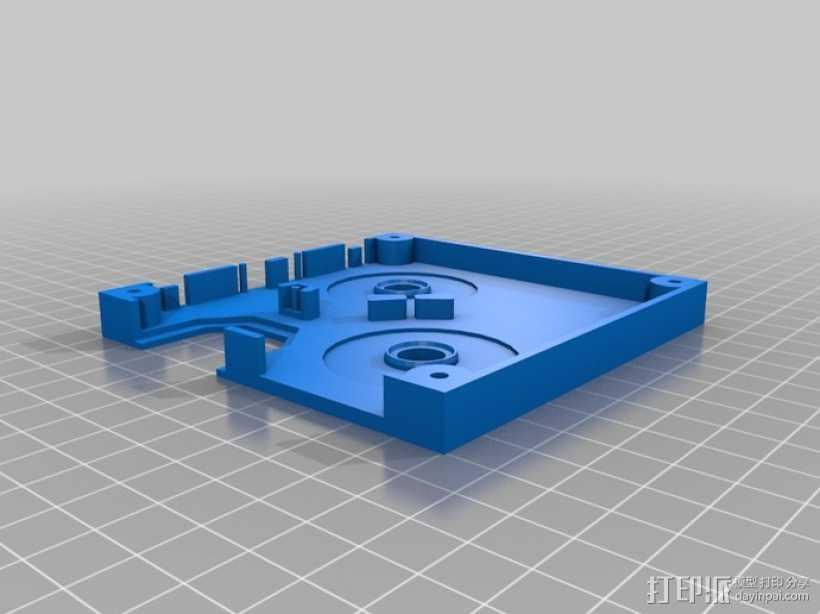 全息磁盘模型 3D打印模型渲染图