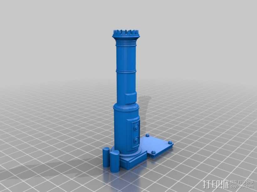 斯堪的纳维亚炉具 3D打印模型渲染图