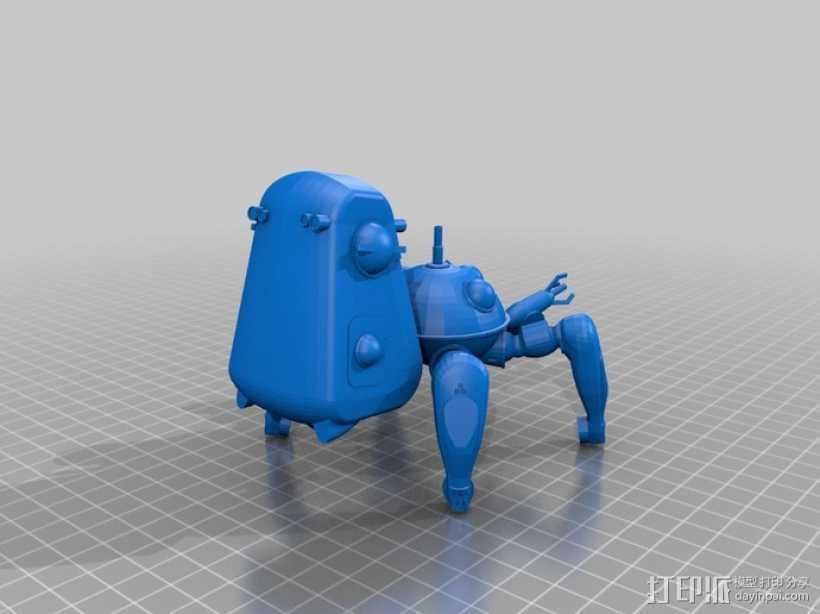 塔奇克马 3D打印模型渲染图