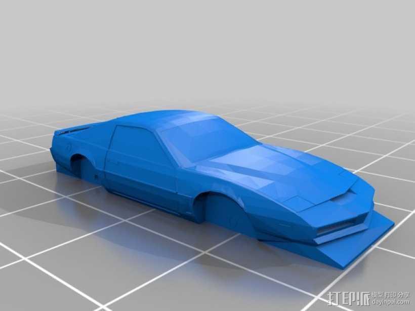 Pontiac Firebird庞蒂亚克火鸟超级跑车 3D打印模型渲染图