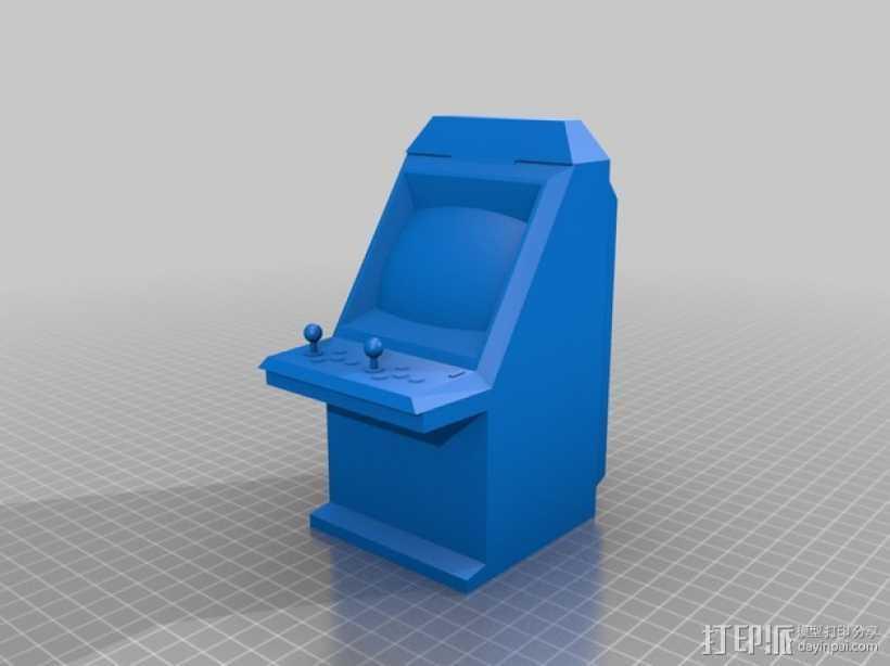 Sega Aero City街机模型 3D打印模型渲染图