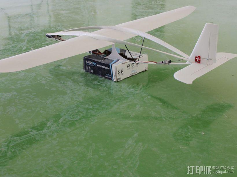 滑翔机模型 3D打印模型渲染图