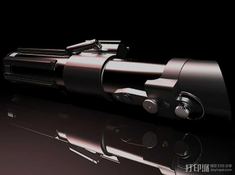 达斯维德的光剑 3D打印模型渲染图