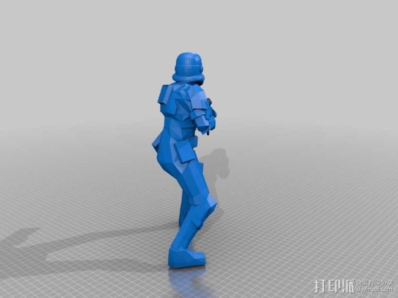 风暴装甲兵 3D打印模型渲染图