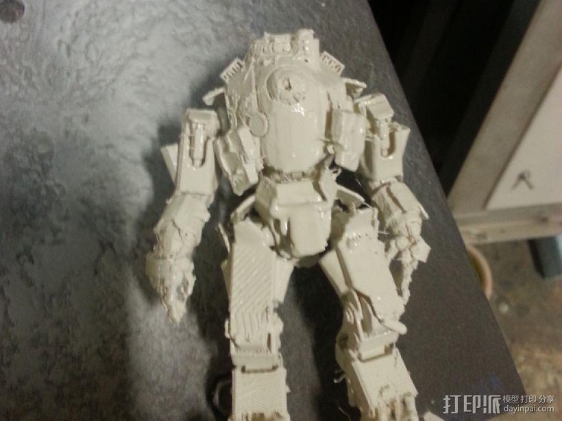 机械人泰坦 3D打印模型渲染图