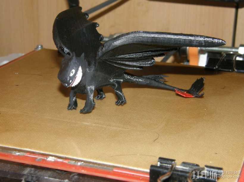 无牙夜煞模型 3D打印模型渲染图