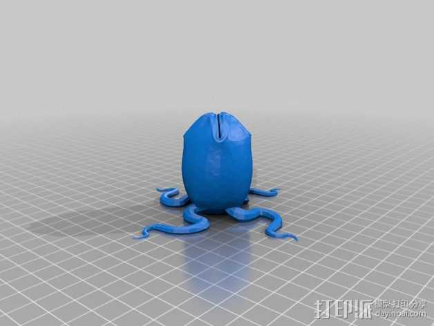 外星蛋 3D打印模型渲染图