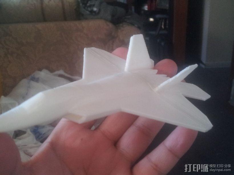 F22战斗机 3D打印模型渲染图