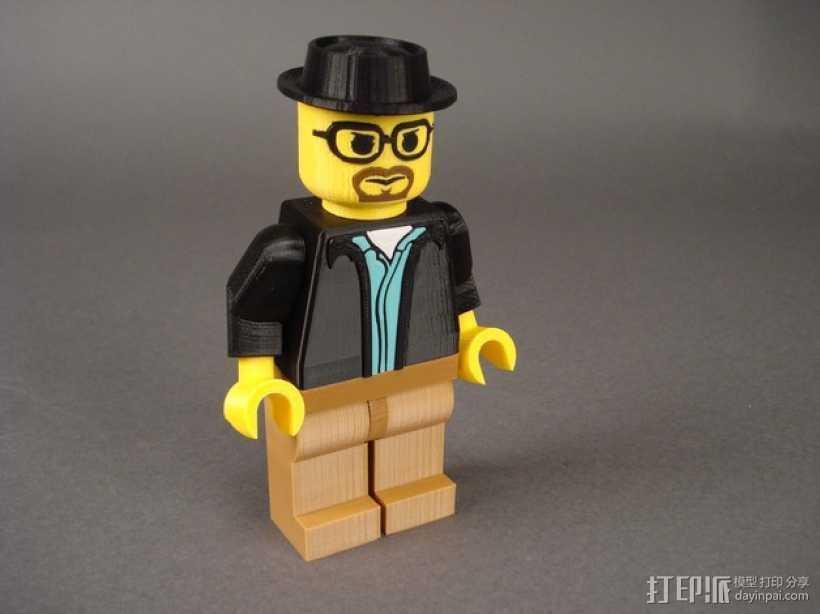 Heisenberg玩偶 3D打印模型渲染图